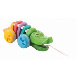 Arrastre Cocodrilo Plan Toys