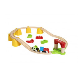 Mi primer circuito de tren...