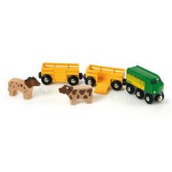 Tren de la granja Brio