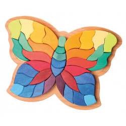 Puzzle Mariposa Grimms
