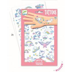 Tatuajes Unicornios DJECO