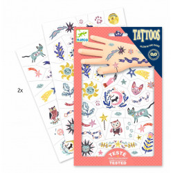 Tatuajes Dulces sueños DJECO