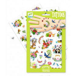 Tatuajes Primavera DJECO