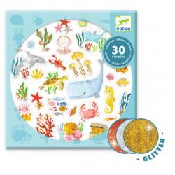 Stickers Aqua dream DJECO