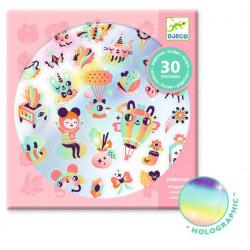 Stickers Lovely rainbow DJECO