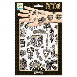 Tatuajes Dorado Chic DJECO