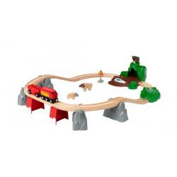 Set ferroviario fauna...