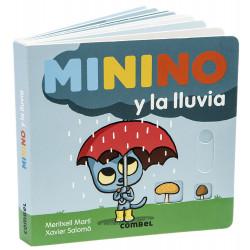 Minino y la lluvia Combel