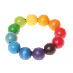 Sonajero pulsera de colores...