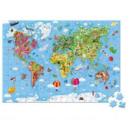 Puzzle Gigante del Mundo Janod