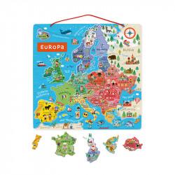 Puzzle de Europa mágnetico...