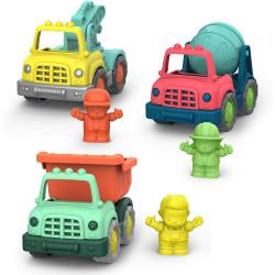 Set de 3 camiones Wonder...