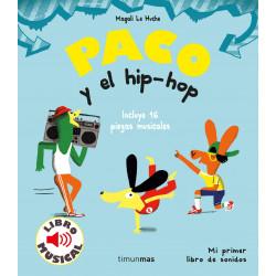 Libro musical Paco y el...