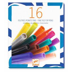 Colores 16 rotuladores de...