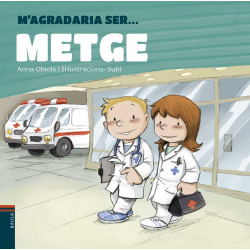 Llibre M'agradaria ser… Metge