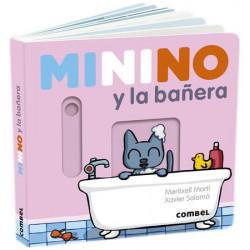Libro Minino y la bañera