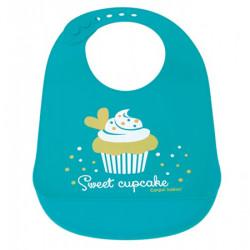 Babero de Silicona Cupcake...