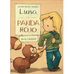 Libro Luna y el panda rojo...
