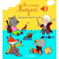 Mi primer Mozart libro musical