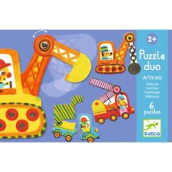 Puzzle Duo Vehículos