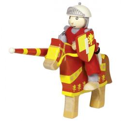 Caballero Artus con caballo...