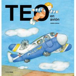 Libro Teo en avión