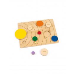 Puzzle del Sistema Solar