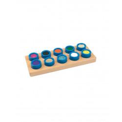 Cubos táctiles sensoriales.