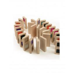 Domino de texturas sensorial