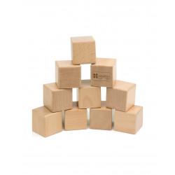 Cubos sensoriales con sonidos