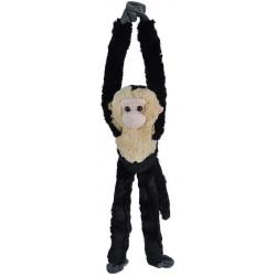 Peluche Mono Spider Black