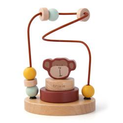 Laberinto de perlas mono