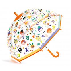 Paraguas Caras djeco