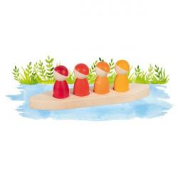 Barco con nins Goki