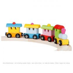 Tren de madera Turin mágnetico