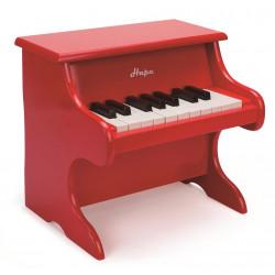 Piano rojo de madera Hape