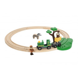 Tren Conjunto de red férrea...