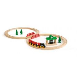 Tren clásico madera  Brio 8...