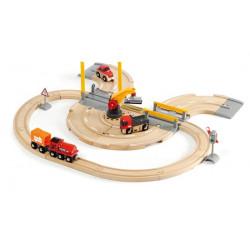 Set ferroviario de grúa por...