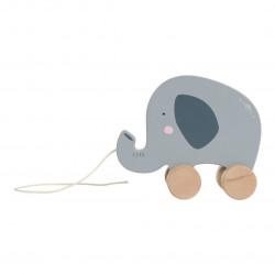 Arrastre de madera Elefante...