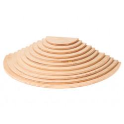 Semicirculos de madera Grimms