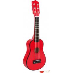 Guitarra Small Foot Roja