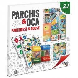 Tablero Parchis-Oca con...