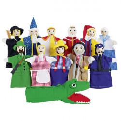 12 marionetas de mano Goki