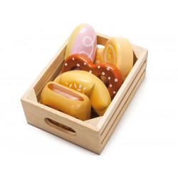 Caja de Pastas y galletas