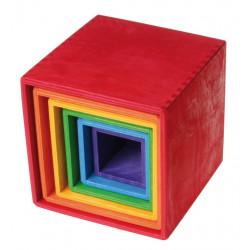 Cubos Apilables ArcoIris...