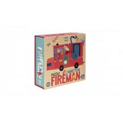 Puzzle Fireman Londji