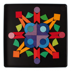 Puzzle magnético de figuras...