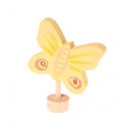 Figura Mariposa Amarilla...