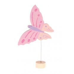 Figura Mariposa Rosa Grimm's